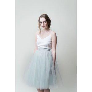 Gretta Tulle Skirt - Seafoam - 30