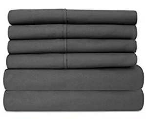From $16Sweet Home Collection 6 Piece 1500 Thread Count Egyptian Quality Deep Pocket Bed Sheet Set