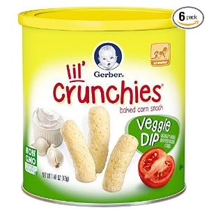 $8.82Gerber 嘉宝蔬菜口味泡芙条 6罐装