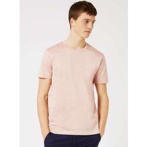 TOPMAN PREMIUM Pink Slim Fit T-Shirt - TOPMAN USA