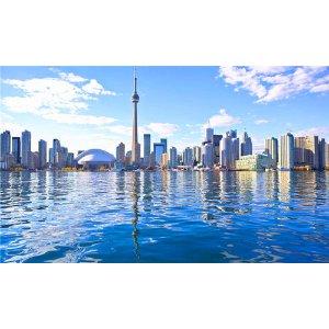 【75折优惠码CA1775】(7天)美加东名城畅游:纽约市区游、首都美景饱览、魁北克风情、唯美千岛湖、雄伟大瀑布