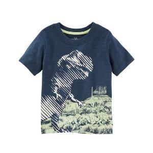 Toddler Boy Glow-In-The-Dark Dino Tee | OshKosh.com