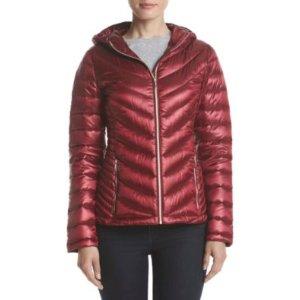 Calvin Klein Hooded Packable Jacket