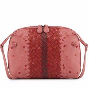 Bottega Veneta Embroidered Leather Pillow Bag