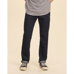 Guys Slim Straight Jeans | Guys Clearance | HollisterCo.com