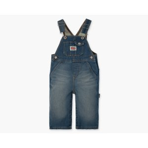 Infant Boys (12-24M) Knit Overall with Snappy Tape