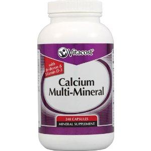 Vitacost Calcium Multi-Mineral with TriBoron & Vitamin D3 -- 240 Capsules