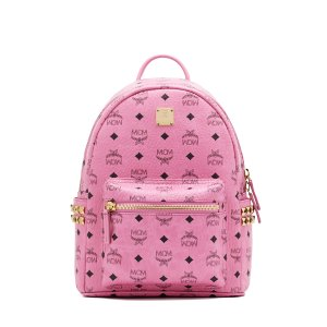 Small STARK BACKPACK in Pink by MCM