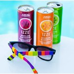 Izze Sparkling Juice, 3 Flavor Variety Pack, 8.4 Ounce (Pack of 24)