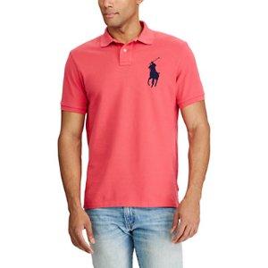 Custom Fit Cotton Mesh Polo - Custom Fit  Polo Shirts
