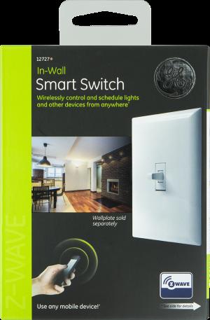 GE Z-Wave In-Wall Wireless Smart Toggle Switch w/ Alexa