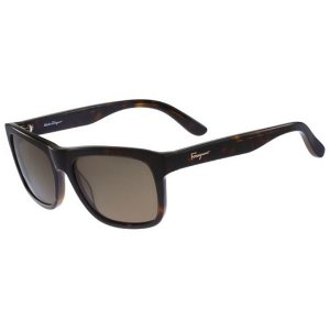 Salvatore Ferragamo Polarized Havana SF686SP-214 - Eyedictive