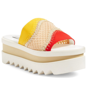 Stella McCartney Flatform Slide Sandal (Women)