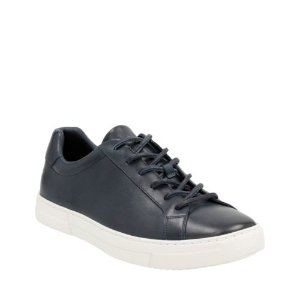 Ballof Up Navy Leather - Mens Shoes with Ortholite Technology - Clarks® Shoes Official Site