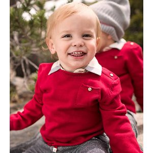 Baby Organic Cotton Pocket Sweater
