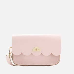 The Cambridge Satchel Company Women's Small Cloud Bag - Peach Pink Patent