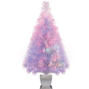 Holiday Time Artificial Christmas Trees Pre-Lit 32