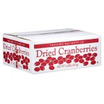 Traverse Bay Fruit Co. Dried Cranberries, 4-Pound Box