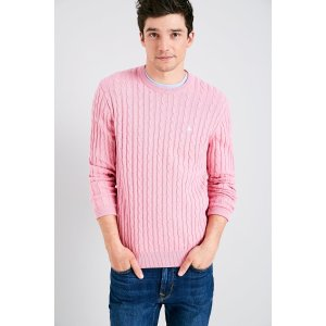 MARLOW CABLE CREW NECK SWEATER   JackWills US