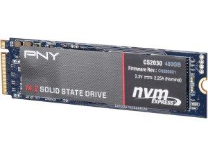 PNY CS2030 480GB M.2 2280 PCIe NVMe SSD