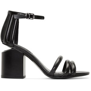Alexander Wang: Black Cage Abby Sandals