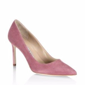BB 90 Suede Point Toe Pumps