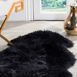 Natural Dyed Sheepskin Rug