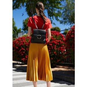Pebbled ring backpack -  Women | MANGO USA