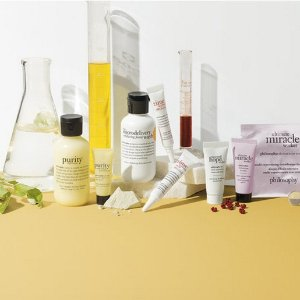 Up to 4 Free Deluxe Samples@ philosophy