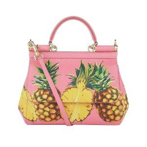 Dolce & Gabbana Small Sicily Pineapple Bag