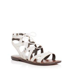 Sam Edelman Gemma Caged Lace Up Sandals | Bloomingdale's
