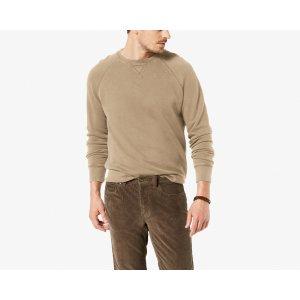 Premium Crew Neck Sweatshirt | TIMBERWOLF | Dockers® United States (US)