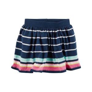Baby Girl Striped Skort | Carters.com