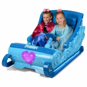 Disney Frozen 12-Volt Ride-On Sleigh