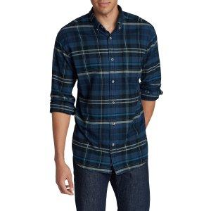Men's Eddie's Favorite Flannel Relaxed Fit Shirt - Plaid   Eddie Bauer