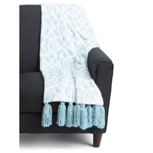 Lynwood Tassel Throw - Living Room - T.J.Maxx