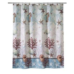 Barbados Fabric Shower Curtain
