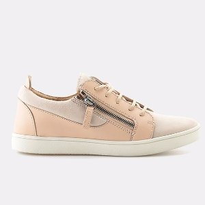 Giuseppe Zanotti Breck Double Zip Low-Top Sneaker