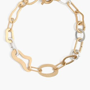 $36Madewell abstract link necklace