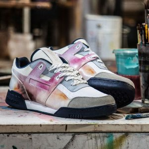 Reebok x Artists For Humanity Workout Plus - White