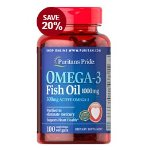 Puritan's Pride Omega-3 Fish Oil 1000 mg