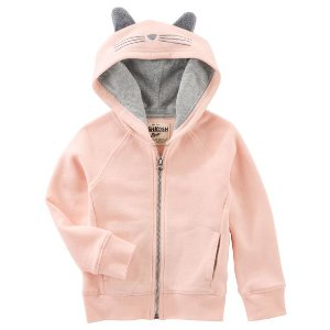 French Terry Cat Hoodie