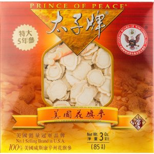 Wisconsin Ginseng 5 Year Root Slices