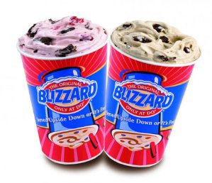 Buy 1 Get 1 for $0.99Blizzard Limited Time sale @ Dairy Queen