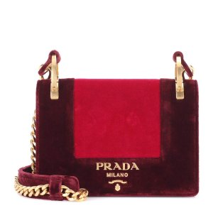 Velvet Shoulder Bag - Prada
