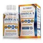 Dr. Tobias Omega 3 Fish Oil Pills (180 Counts)