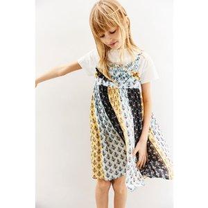 DRESS WITH SHINY BORDERS - DRESSES-GIRL   4-14 years-KIDS-SALE   ZARA United States