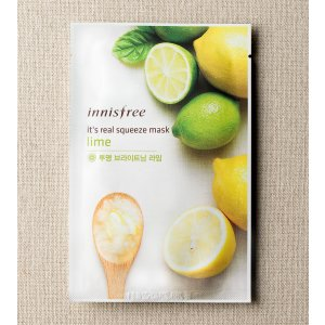 SKIN CARE - It's real squeeze mask - lime | innisfree