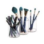 InterDesign 化妆刷具盒套装,3个一组