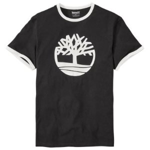 Men's Short Sleeve Tree Logo Ringer T-Shirt | Timberland US Store